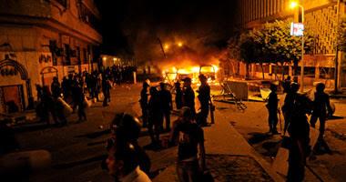 الاشتباكات بمحيط السفارة