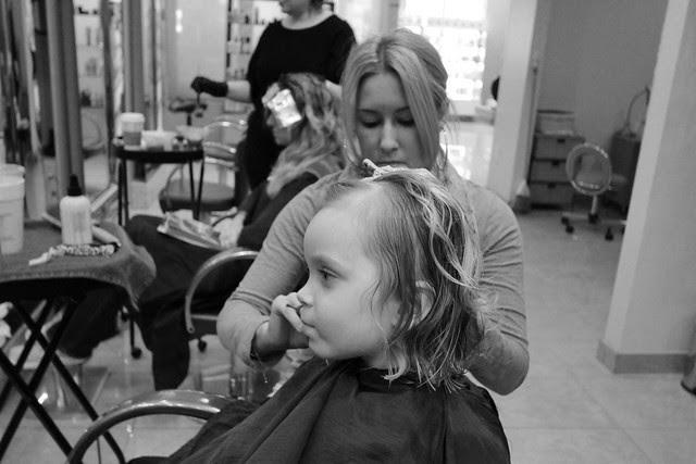 Little Ps first haircut