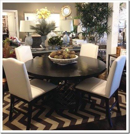Espresso Dining Room Table