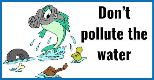 Su Kirliliği Water Pollution Ile Ilgili Ingilizce Sloganlar