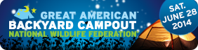 Great American Backyard Campout - June 28, 2014