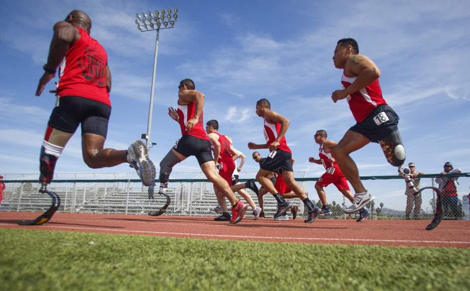 Olimpiada para marines discapacitados