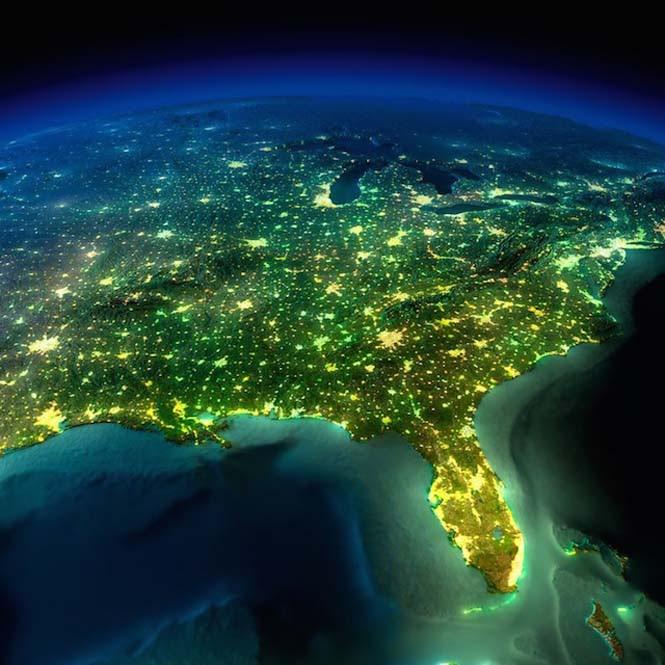 Εκπληκτικές νυχτερινές εικόνες της Γης (5)