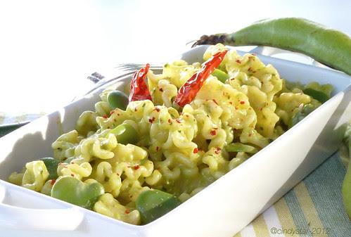 pasta with fava beans pesto-mlla 46