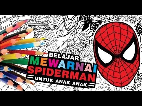 [Top rating] Gambar Untuk Mewarnai Spiderman
