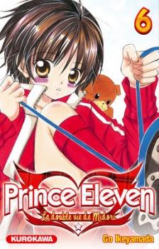 Couverture Prince Eleven - La double vie de Midori, tome 06
