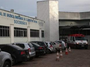 O policial civil Mendonça foi encaminhado ao hospital Socorrão II em estado grave e acabou falecendo