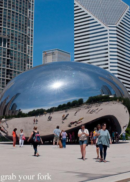 Cloud Gate The Bean Chicago Millennium Park Anish Kapoor Chicago Illinois