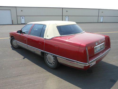 Buy used 1996 Cadillac Sedan Deville in Richmond ...