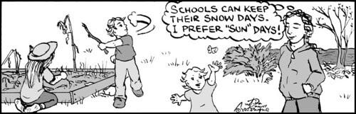 Home Spun comic strip #462