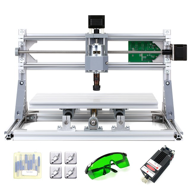 CNC3018 DIY Router Kit 500mw Wood Engraving Milling Machine 3 Axis /& ER11 Collet