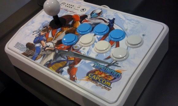 novo controle p/ Tatsunoko vs Capcom