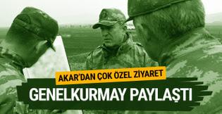 Hulusi Akar Hatay'daki birlikleri denetledi