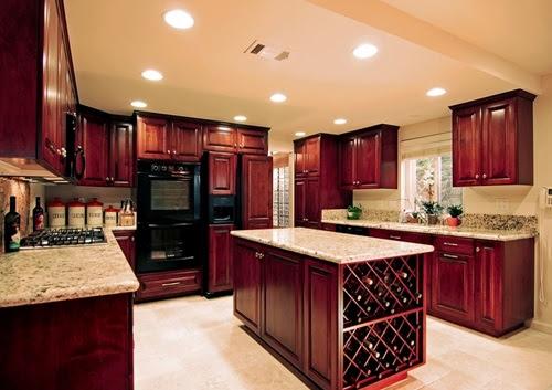 Wood kitchen Cabinet Choices - Interior design