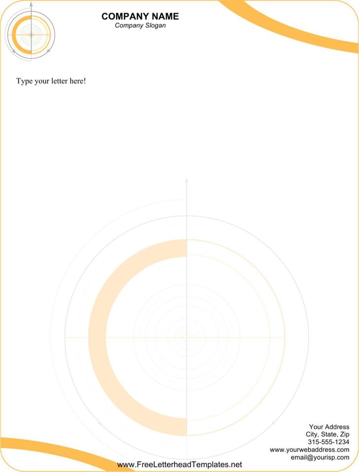Free Editable Technical Letterhead Template Word Download - PDF ...