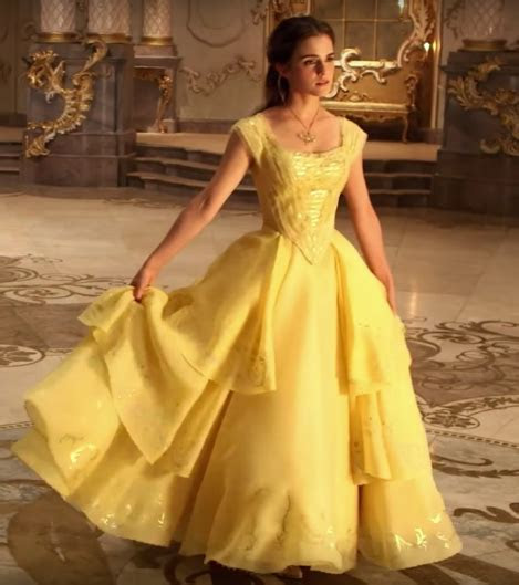 Belle?s Yellow Gown from 2017 Beauty and the Beast ? The