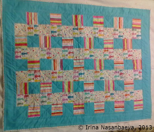 Irina's first quilt_1