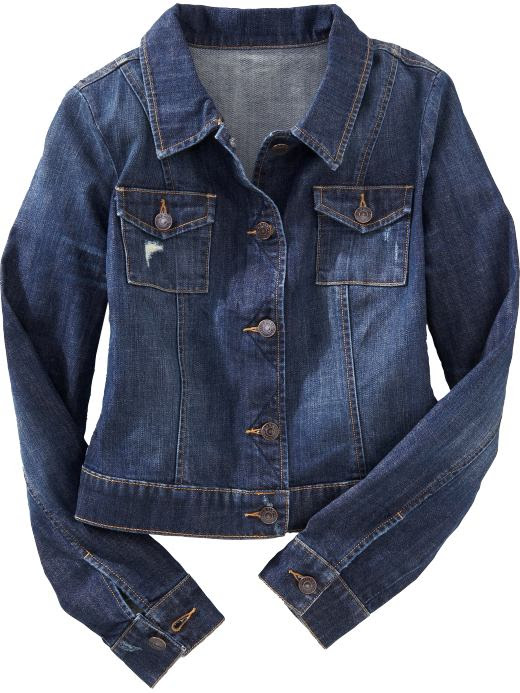 Old Navy Womens Cropped Denim Jackets