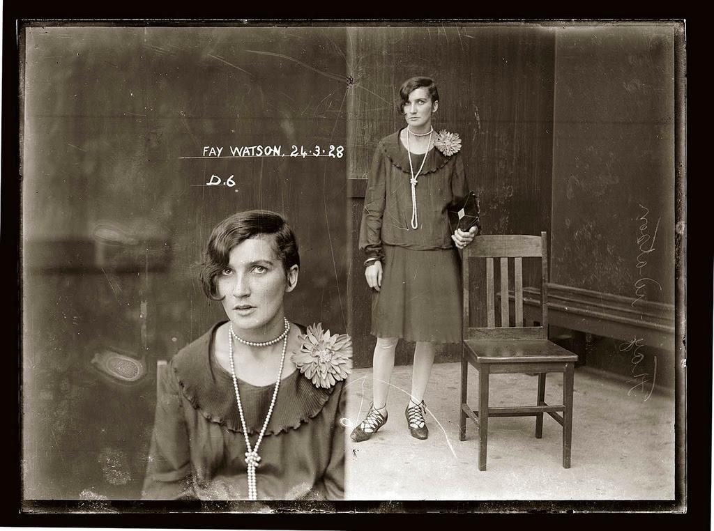 photo police sydney australie mugshot 1920 41 Portraits de criminels australiens dans les années 1920  photo photographie histoire featured art