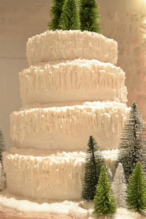 Winter Wonderland Cake   CakeCentral.com