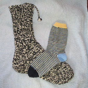 R's ragg sock
