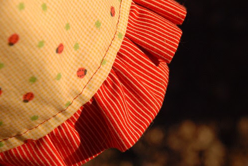 the second apron ruffle