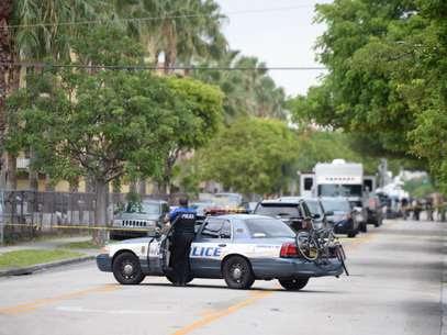 La policía logró capturar, a fuerza de balas, al hombre que disparó abiertamente en una residencia al norte de Florida. Foto: Getty Images