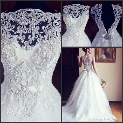 2016 Designer Princess Wedding Dresses Vintage Real Sample
