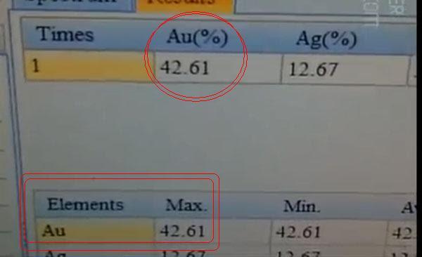 Hình ảnh Dùng máy đo quang phổ để kiểm tra hàm lượng vàng ròng số 2