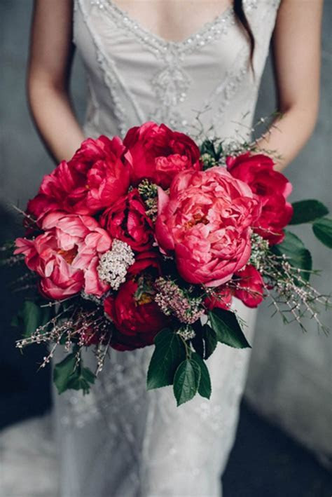 Best 25  Coral peony bouquet ideas on Pinterest