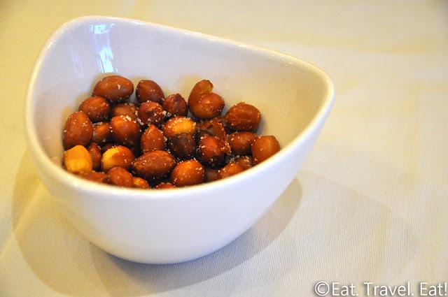 Lunasia Chinese Cuisine- Alhambra, CA: Salted, Roasted Peanuts