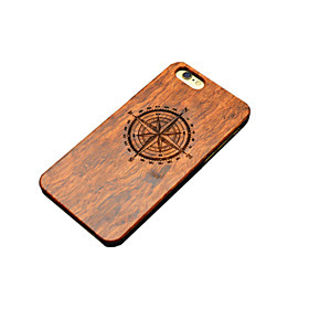 tre iphone case kompass nord carving concavo konveks hardt bakdekselet for iphone 5 / 5s