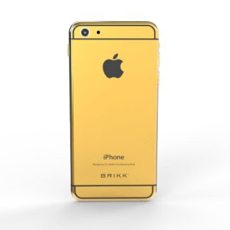 24k Gold Lux Black iPhone 6 by BRIKK