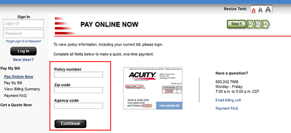 Acuity Home Insurance Login | Make a Payment