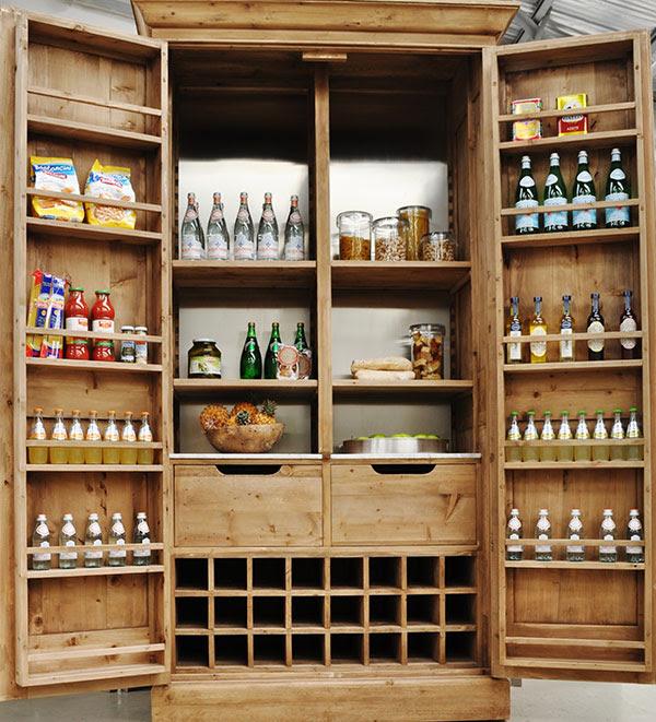 Cupboard Pantry | Amanda's Shabby Chic