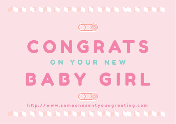 New Baby Congratulations Ecards Someone Sent You A Greeting