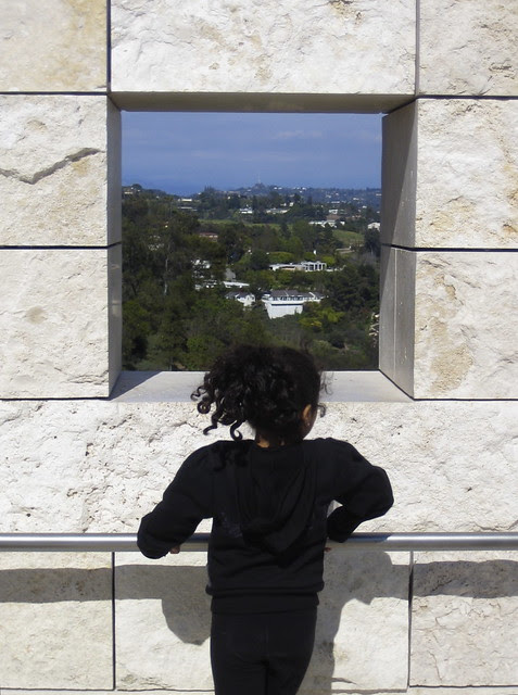 Getty Window Triptych (2)