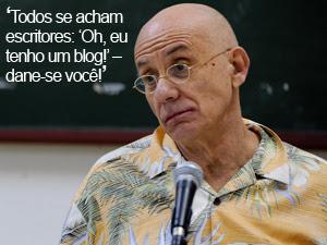 Em Paraty, James Ellroy critica novas tecnologias e redes sociais (Flavio Moraes/G1)