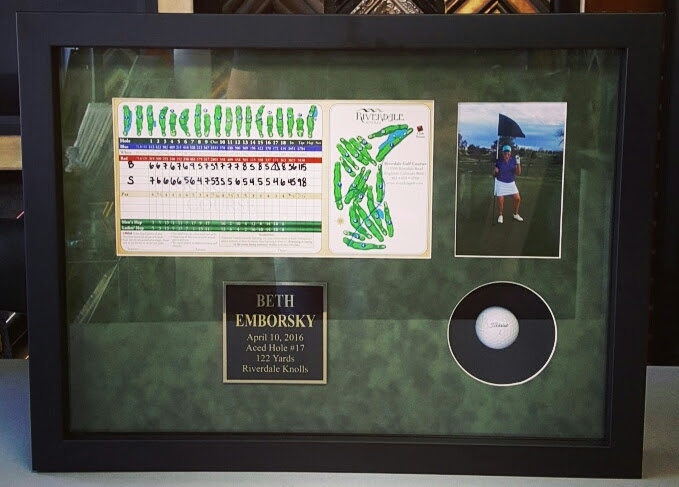Hole In One Golf Picture Frame Denver Fastframe Of Lodo Expert