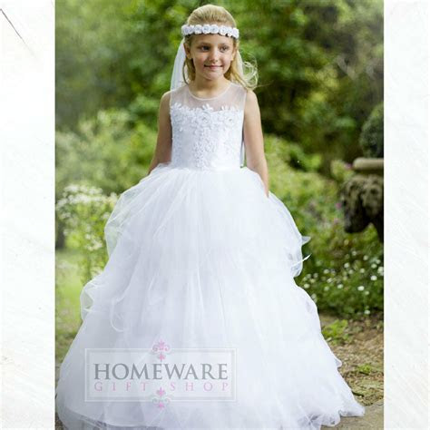 girls holy communion dresses bridesmaid wedding flower