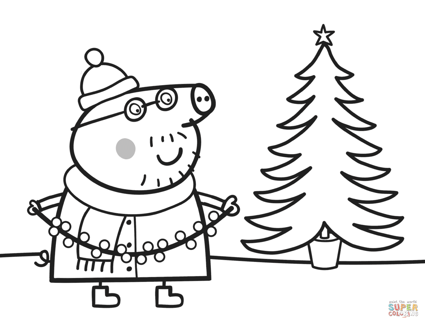 93 Top Coloring Pages Xmas Tree , Free HD Download