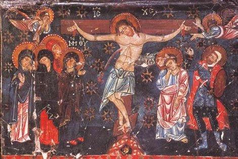 Ἡ Σταύρωση Ἱερὰ Μονὴ Ἁγίας Αἰκατερίνης Σινᾶ, 13ος-14ος αἰ.
