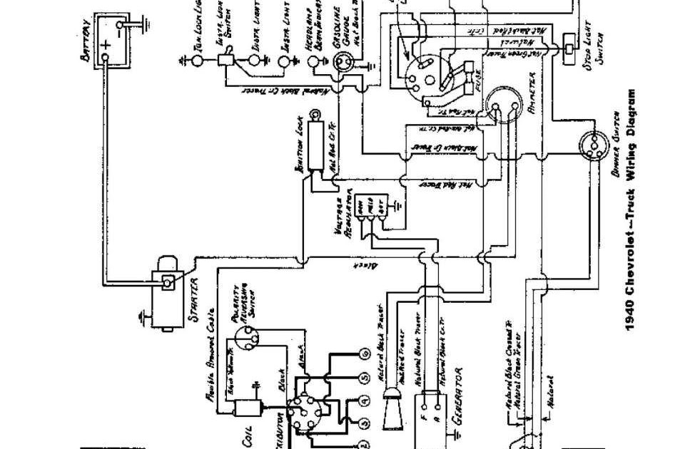 1955 Chevy Ignition Switch Wiring Diagram