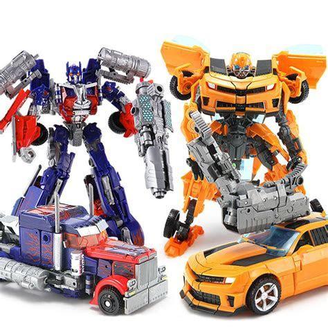 Transformers Car Action Figures Grimlock Bumblebee Optimus
