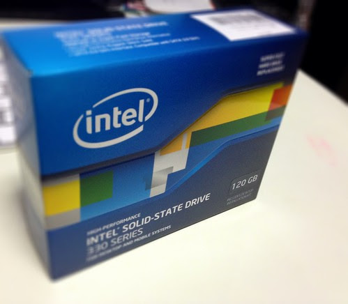 INTEL 330 SERIES SSD by cinz