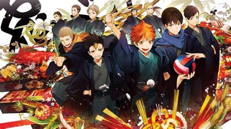 haikyuu anime wallpaper characters karasuno team