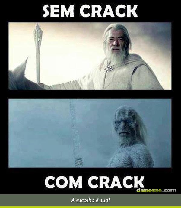 Usuários de crack!