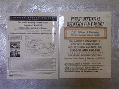 Public meeting notice, Florida Market