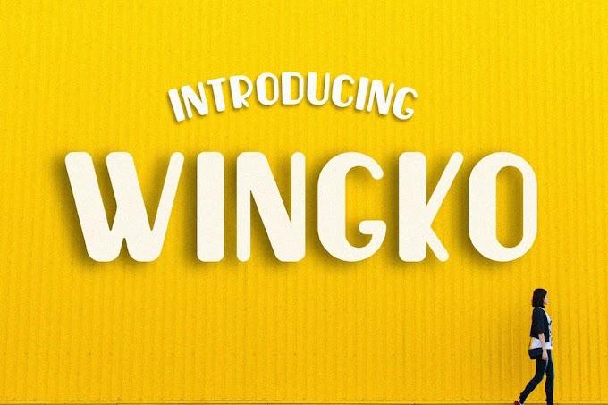 Wingko Font