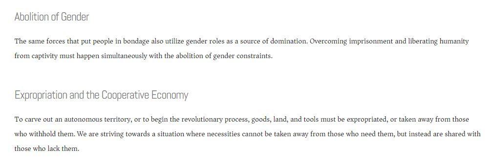 Revolutionary Abolitionist Movement (Screenshot: RAM website)